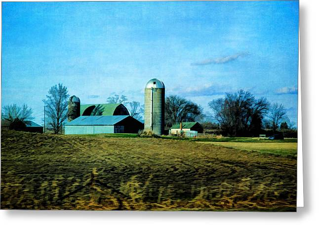 Minnesota Grown Photographs Greeting Cards - Minnesota Farm 2 Greeting Card by Todd and candice Dailey