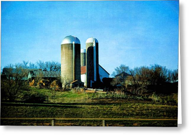 Minnesota Grown Photographs Greeting Cards - Minnesota Farm 3 Greeting Card by Todd and candice Dailey