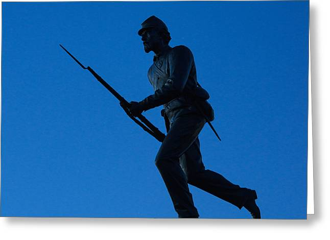 Minnesota Soldier Monument at Gettysburg Greeting Card by John Greim
