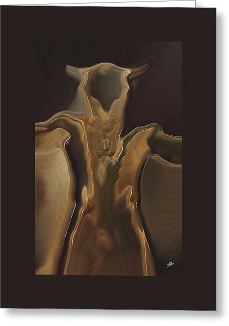 Decorative Nude Greeting Cards - Minotaur By Quim Abella Greeting Card by Joaquin Abella
