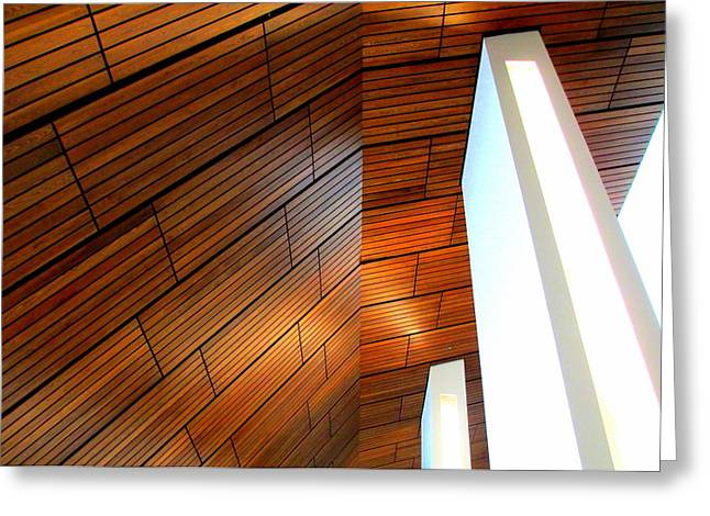 Charlotte Art Museums Greeting Cards - Mint Ceiling 1 Greeting Card by Randall Weidner