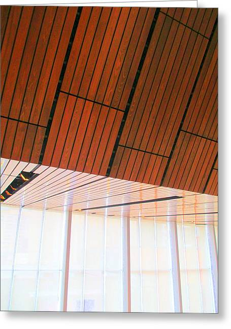 Charlotte Art Museums Greeting Cards - Mint Ceiling 2 Greeting Card by Randall Weidner