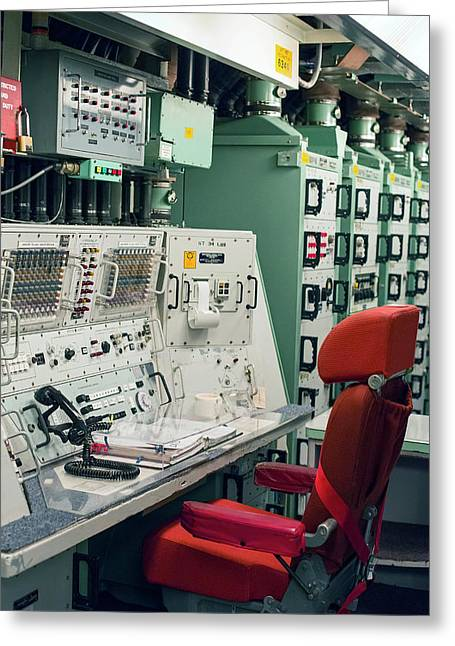 Minuteman Missile Control Room Greeting Card by Jim West