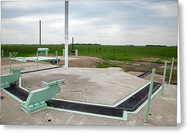 Minuteman Missile Silo Greeting Card by Jim West