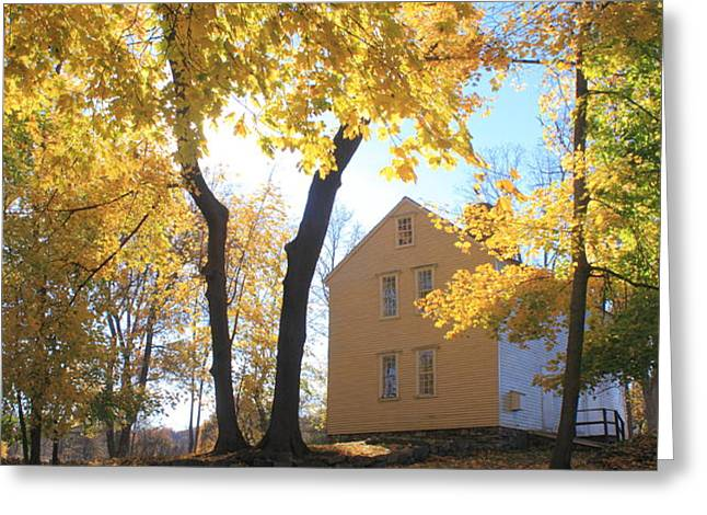 Minuteman National Historic Park Brooks House Greeting Card by John Burk