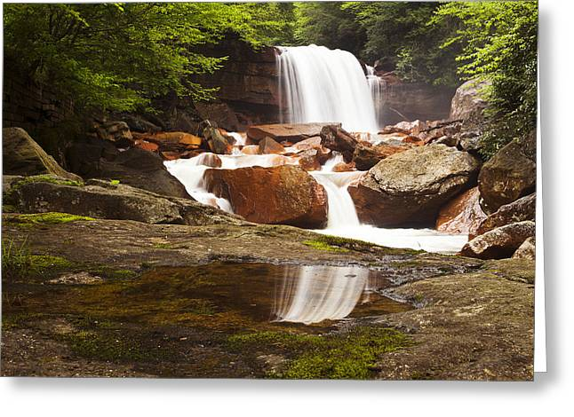 Allegheny Mountains Greeting Cards - Mirror Image II Greeting Card by Mike Lang