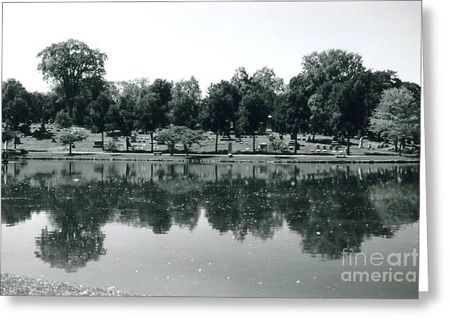 Esem8chart.com Greeting Cards - Mirror Image Greeting Card by Sarah Holenstein