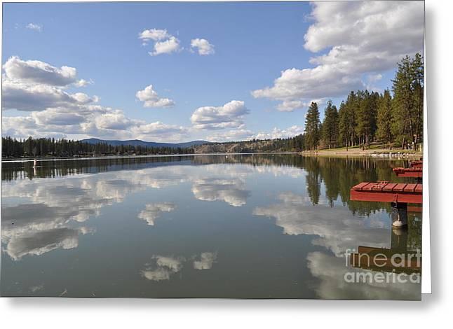 Spokane Greeting Cards - Mirror mirror Greeting Card by Ana Lusi