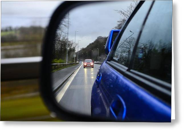 Prodrive Greeting Cards - Mirror Signal Manouvre Greeting Card by Phil Kellett