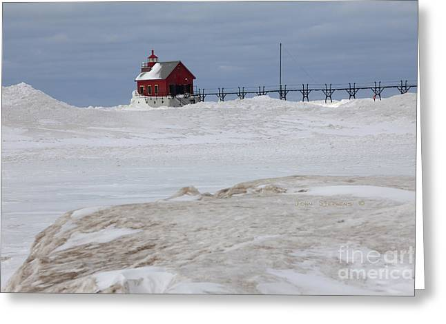 Snow Drifts Greeting Cards - Misplaced Greeting Card by John Stephens