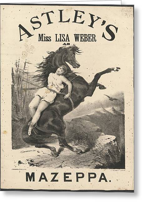 Miss Lisa Weber Greeting Card by British Library