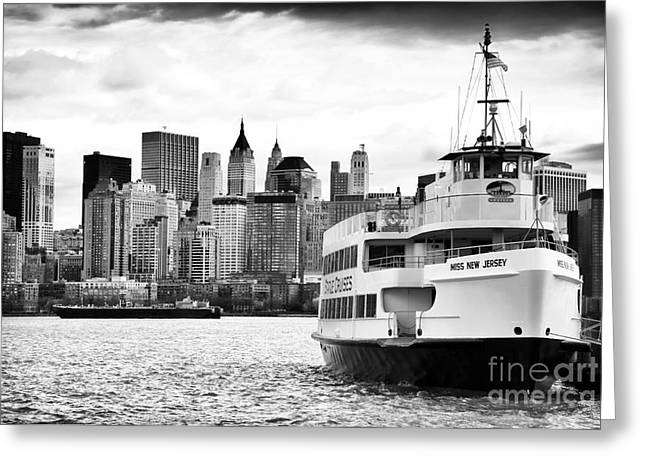 Miss New Jersey Greeting Card by John Rizzuto