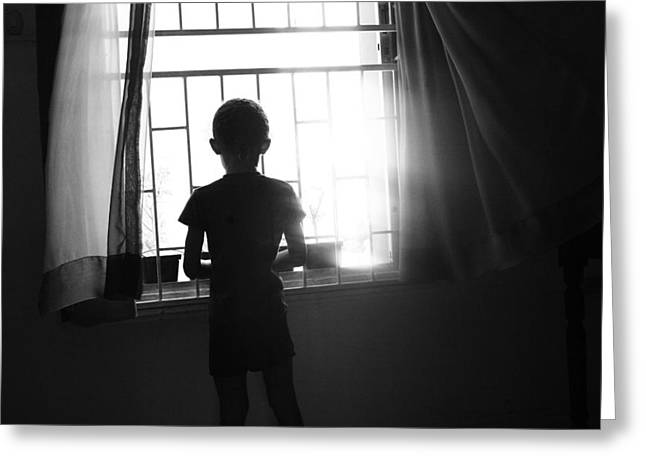 Best Sellers -  - Missing Child Greeting Cards - Missing Daddy Greeting Card by Dexter Browne