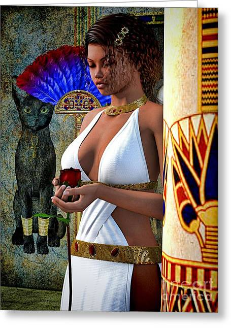 African-american Digital Greeting Cards - Missing You Greeting Card by Alexander Butler