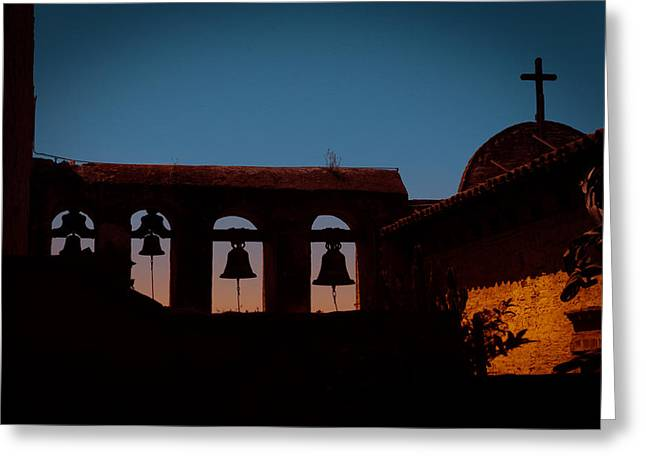 John Kennedy Greeting Cards - Mission Bells Greeting Card by John Kennedy