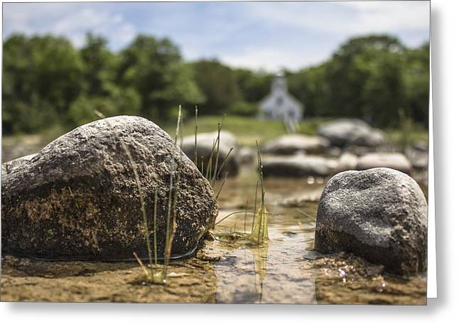 Pure Michigan Greeting Cards - Mission Point Rocks  Greeting Card by John McGraw