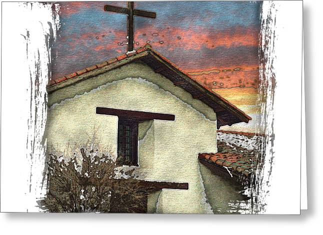 Mission San Francisco De Solano Greeting Card by Ken Evans