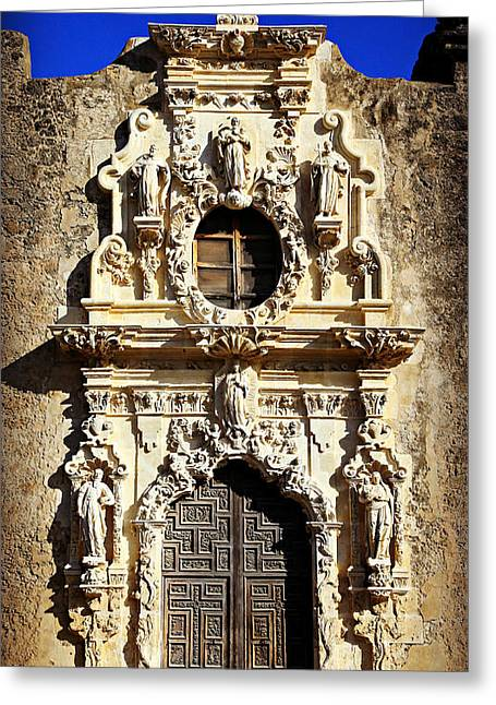 Stone Carving Greeting Cards - MIssion San Jose No 1 Greeting Card by Stephen Stookey