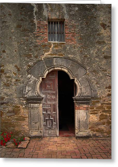 Cindy Rubin Greeting Cards - Missions of San Antonio Greeting Card by Cindy Rubin