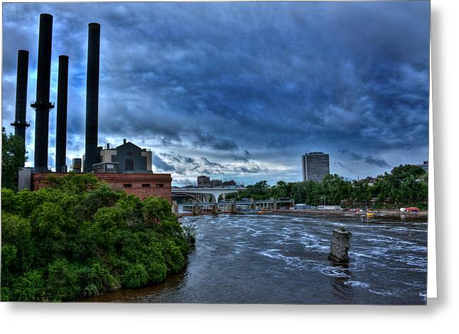 River Flooding Greeting Cards - Mississippi River Greeting Card by Amanda Stadther