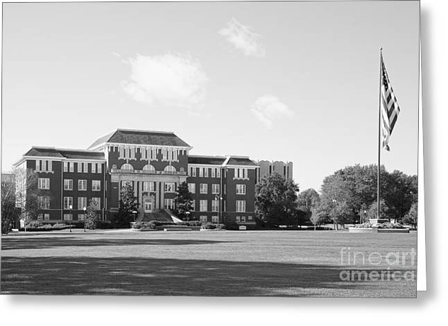 Recently Sold -  - Special Occasion Greeting Cards - Mississippi State University Swalm Chemical Engineering  Greeting Card by University Icons