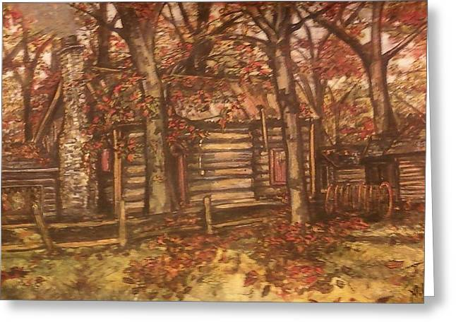 Eureka Paintings Greeting Cards - Missouri Compromise Greeting Card by Alexandria Weaselwise Busen