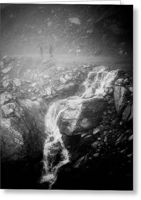 Artmif Greeting Cards - Mist Himalayas mountain Greeting Card by Raimond Klavins