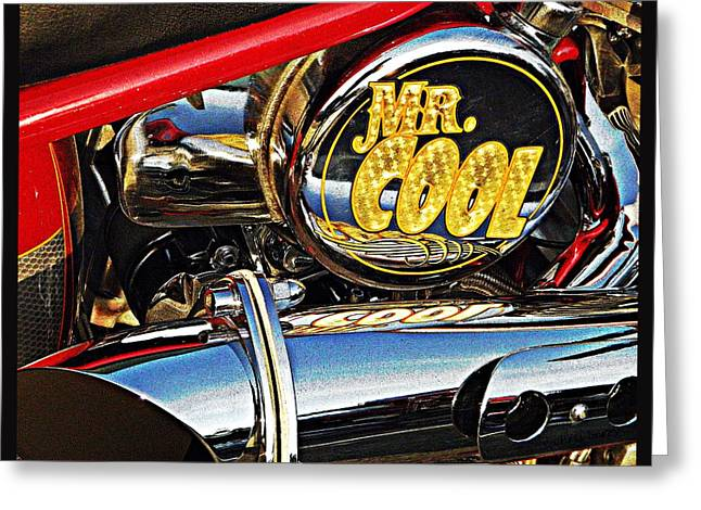 Mister Cool  Greeting Card by Chris Berry