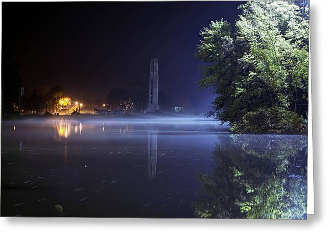 Belle Isle Greeting Cards - Misty Belle Isle Greeting Card by B And G Art