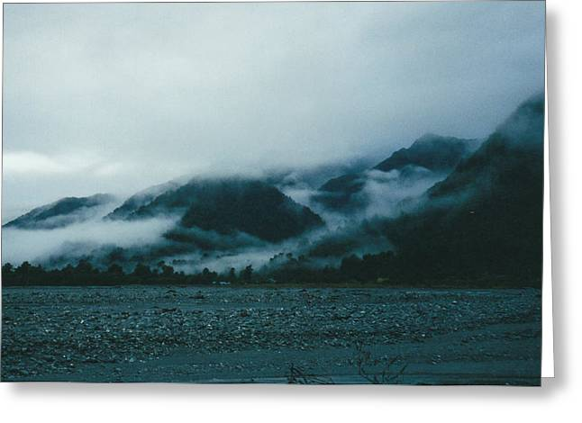 Fed Greeting Cards - Misty Morning Greeting Card by Christine Rivers