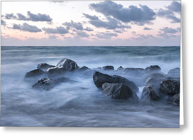 Boynton Greeting Cards - Misty Morning Greeting Card by Jon Glaser