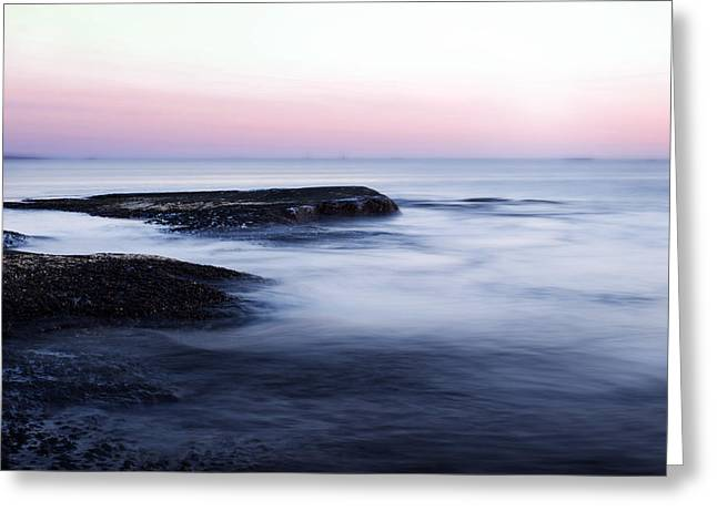 Long Exposure Greeting Cards - Misty Sea Greeting Card by Nicklas Gustafsson