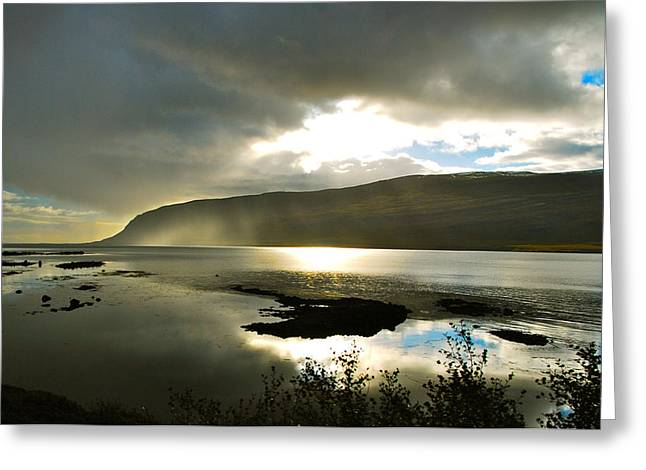 Bob Berwyn Greeting Cards - Misty Westfjords Greeting Card by Bob Berwyn