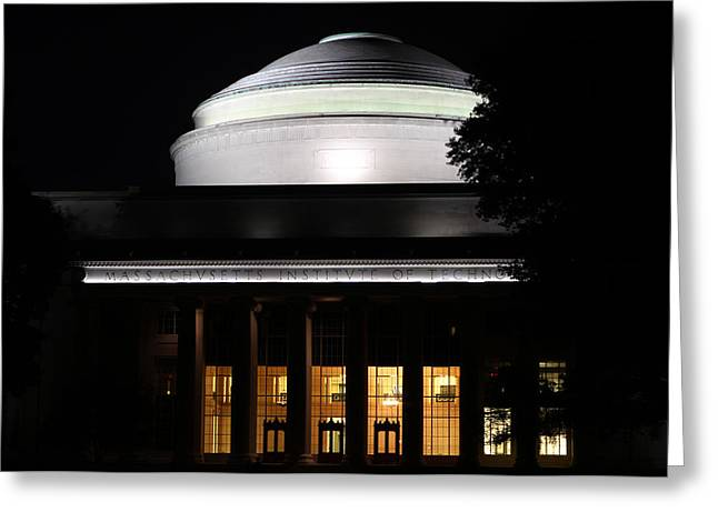 MIT Greeting Card by Juergen Roth
