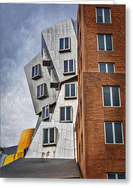 Mit Greeting Cards - MIT Stata Building Center - Cambridge II Greeting Card by Susan Candelario