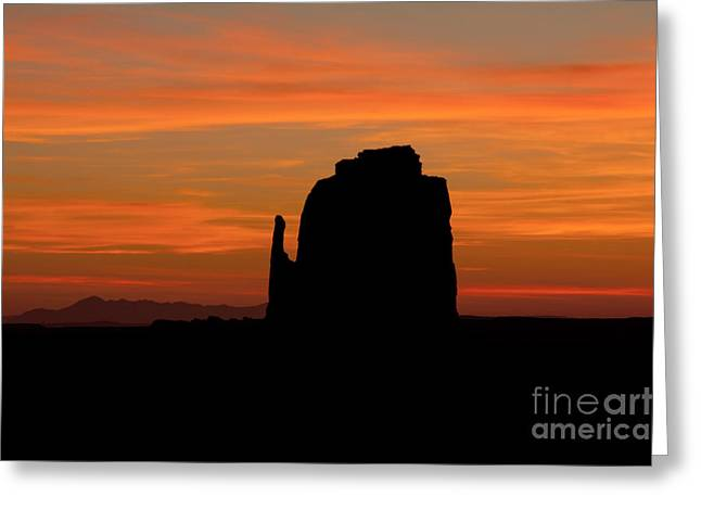 Monolith Greeting Cards - Mitten Greeting Card by Bob Phillips
