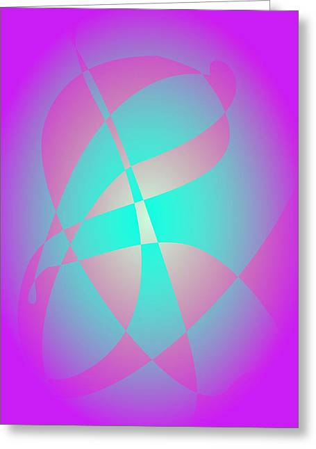 Gradations Digital Art Greeting Cards - Mixed Flowers Purple Greeting Card by Masaaki Kimura