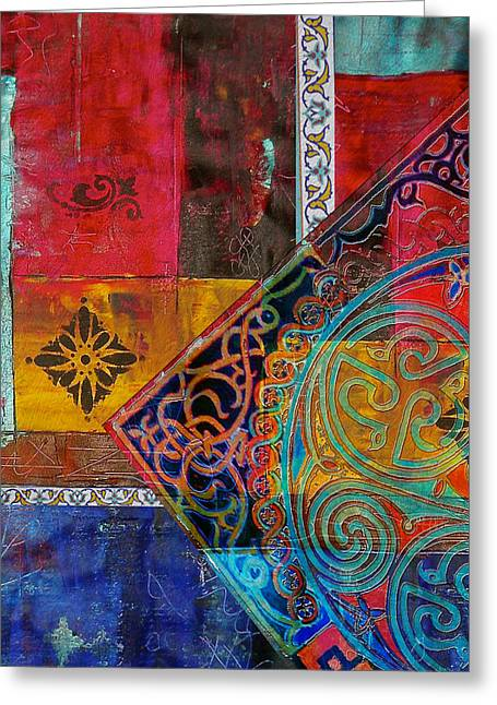 Motif One Greeting Cards - Mixed Motifs 9 Greeting Card by Corporate Art Task Force