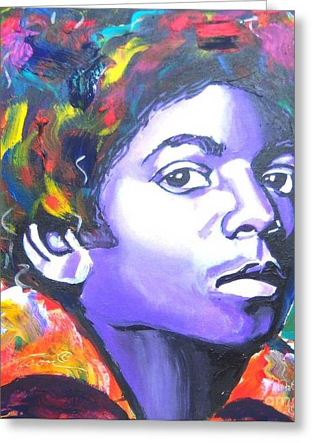 Mj Greeting Cards - Mj Greeting Card by Jonathan Tyson