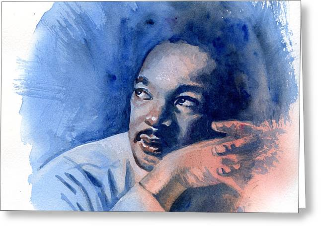 MLK Day Greeting Card by Ken Meyer jr