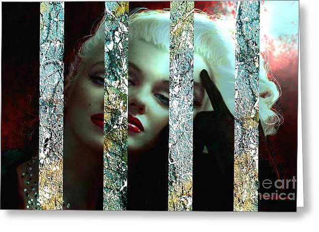 Marlyn Greeting Cards - Mm 128 Sis 3 Greeting Card by Theo Danella