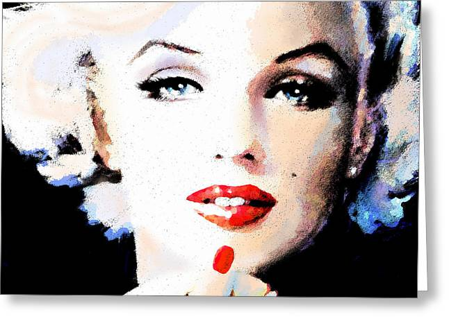 Norma Jeane Greeting Cards - Mm 132 P  Greeting Card by Theo Danella