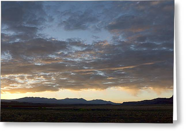 Dave Greeting Cards - Moab I pano color Greeting Card by David Gordon
