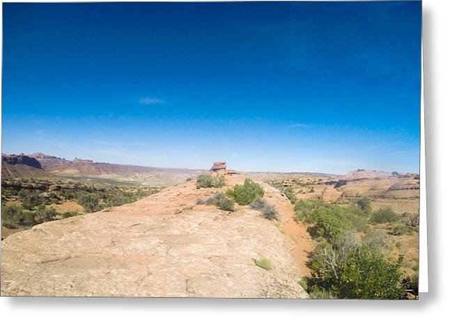 Go Pro Greeting Cards - Moab Greeting Card by Sam Lucey