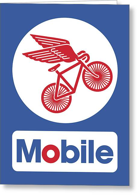 Fixie Greeting Cards - Mobile Greeting Card by Mike Lopez