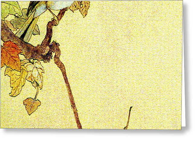 Mockingbird 1890 Greeting Card by Padre Art
