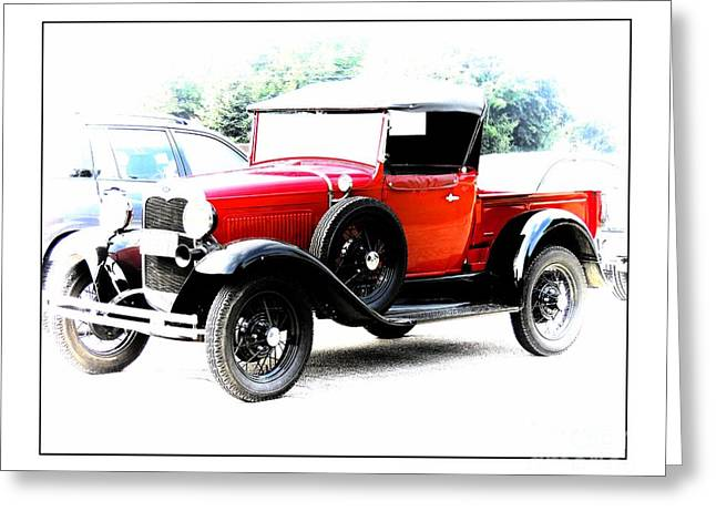 Valuable Photographs Greeting Cards - Model  Ford Truck 1920s Greeting Card by Marcia Lee Jones