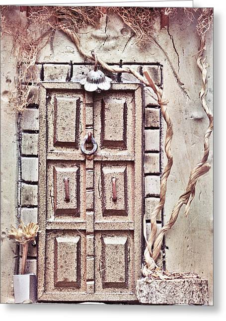 Middle East Photographs Greeting Cards - Model house Greeting Card by Tom Gowanlock