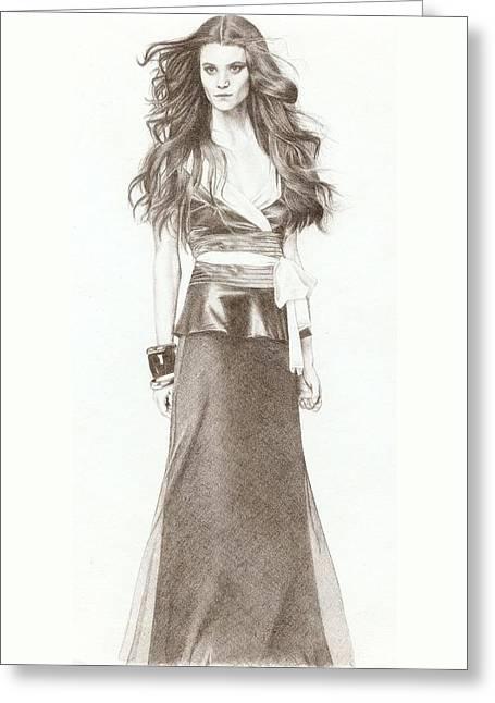 Model Greeting Card by Nur Adlina