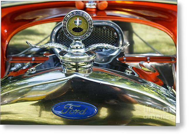 Ford Model T Car Greeting Cards - Model T Ford Greeting Card by Robert Bales
